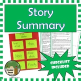 Story Summary – End-of-Unit Project - Summarizing Project
