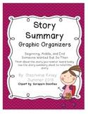 Story Summary Graphic Organizer