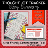Reading Response: Story Summary - A Comprehension Sticky Note Tracker