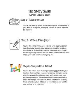 Story Swap - Peer Editing Task
