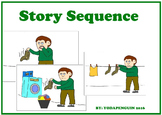 Sequence of Events. Expressive Language Activity for Child