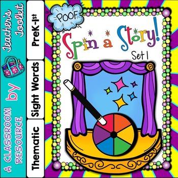 Story Telling Set 1 {UK Teaching Resource}