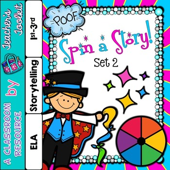 Story Telling Set 2 Spin-a-Story  {UK Teaching Resource}