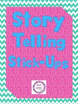 Story Telling Stick-Ups