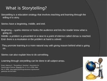 Story Telling Teaching Strategy