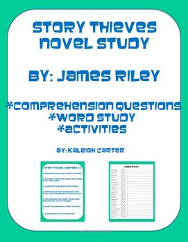 Story Thieves Novel Study