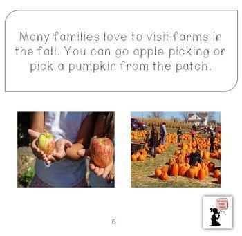 #thankful4u Fall Book for Preschool & Kindergarten