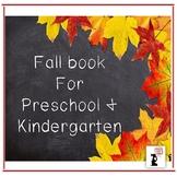 Fall Book for Preschool & Kindergarten