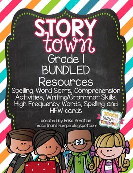 Story Town Grade 1 RESOURCE BUNDLE
