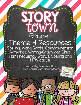 Story Town Grade 1 Resources {Theme 4}