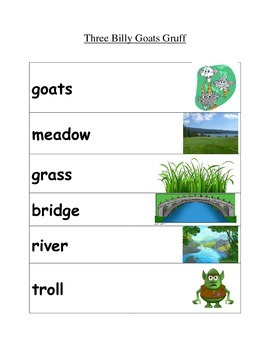 Story Vocabulary Cards