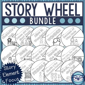 Story Wheel Story Elements Bundle