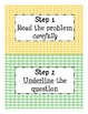 Story Problem Posters