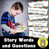 Story Words and Question Cards