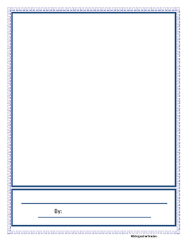 Story Writing Booklet