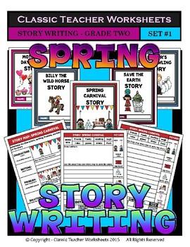 Story Writing Bundle - 2nd Grade (Grade 2)