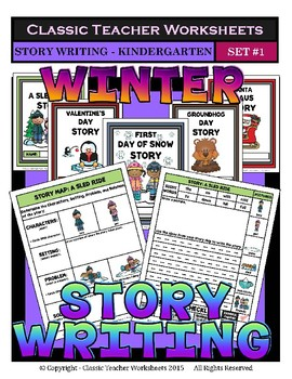 Story Writing Bundle - Kindergarten