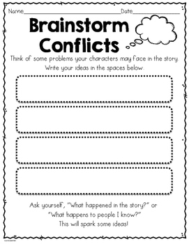 Story Writing: Create Your Own Story--Grade 1 & 2