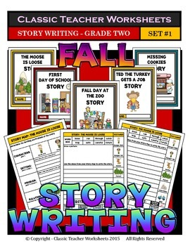 Story Writing-Fall-Grade 2 (2nd Grade)-Story Maps and Stor