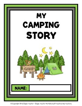 Story Writing - Fall - Kindergarten - Story Maps and Story Writing Templates