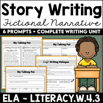 Story Writing (Fictional Narrative) Unit
