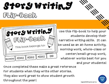 Story Writing - Flip-Book