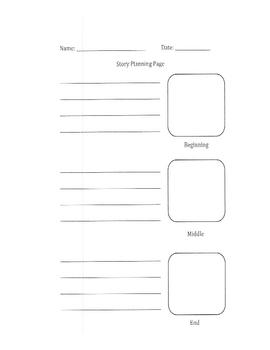 Story Writing Mini-Pack - Kindergarten-3rd Grade