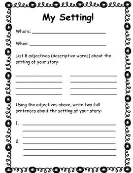 Story Writing Organizer