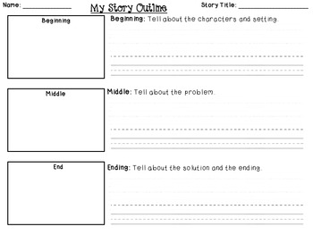 writing a short story outline template