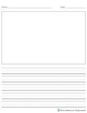 Story Writing Paper Medium Rule