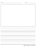 Story Writing Paper Package