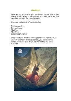 Story Writing Photograph Starters - Awake