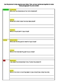 Story Writing Planner for Beginner or Reluctant Writers