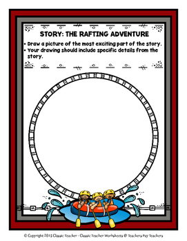 Story Writing-Spring-Grade 3 (3rd Grade)-Story Maps and Story Writing Templates