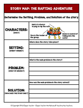 Story Writing Spring Grade 3 3rd Grade Story Maps And Story
