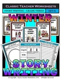Story Writing-Winter-Grade 3 (3rd Grade)-Story Maps and Story Writing Templates