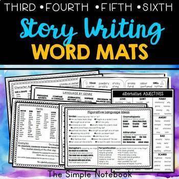Story Writing Word Mats