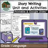 Story Writing Workbook | NO PREP (Grade 1 ONTARIO Writing)