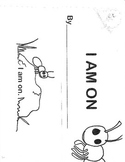 """Story booklet using basic sight/color words,""""an"""" word fami"""
