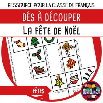 Story dice in French/FFL/FLS: Noël/Christmas