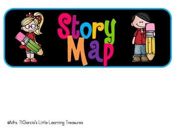 Story map Labels (Black and Neon Series)