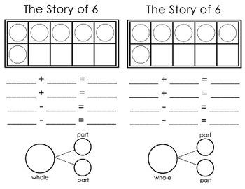 Number Sense - Story of 6