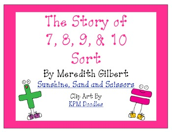 Story of 7, 8, 9 and 10 Sort