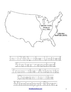 Story of America Moving West Coloring Book-Level B