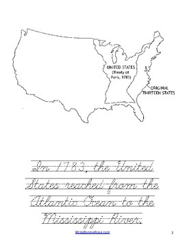 Story of America Moving West Coloring Book-Level C