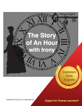 Story of An Hour with Irony(Mini-Unit)