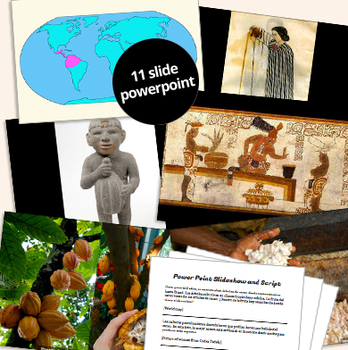 Story of Chocolate Unit: SPANISH Readings, History, Maps, Hispanic Culture