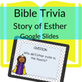 Story of Esther Digital Bible Trivia on Google Slides
