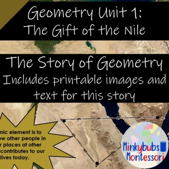 Story of Geometry Montessori Gift of Egypt Gift of the Nile