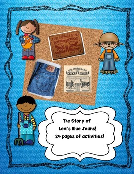 Levi Strauss, Denim Jeans and Cotton Fun Facts!-Close Reading and Writing!